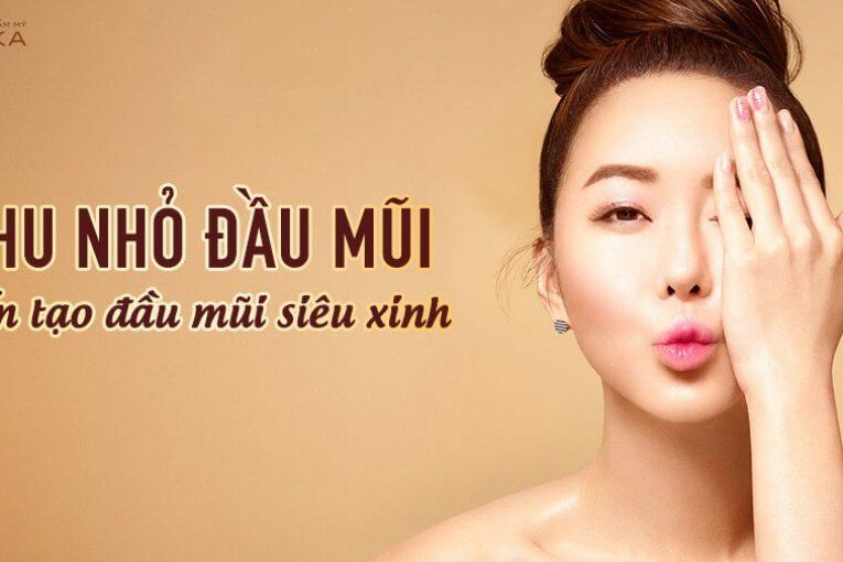 Thu nhỏ đầu mũi - Phương pháp kiến tạo đầu mũi nhỏ gọn - Nangmuicautrucdep.com
