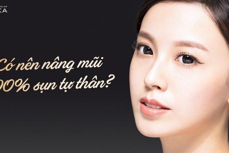 Có nên nâng mũi bằng sụn tự thân hoàn toàn thưa bác sĩ? - Nangmuicautrucdep.com