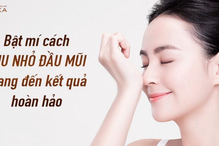 Bật mí cách thu nhỏ đầu mũi mang đến kết quả hoàn hảo - Nangmuicautrucdep.com