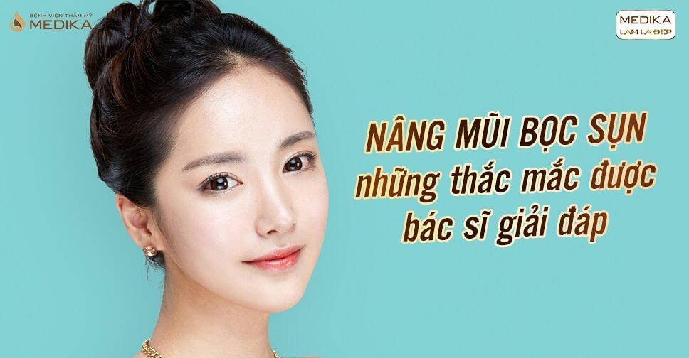 Nâng mũi bọc sụn - Những thắc mắc được bác sĩ giải đáp - Nangmuicautrucdep.com