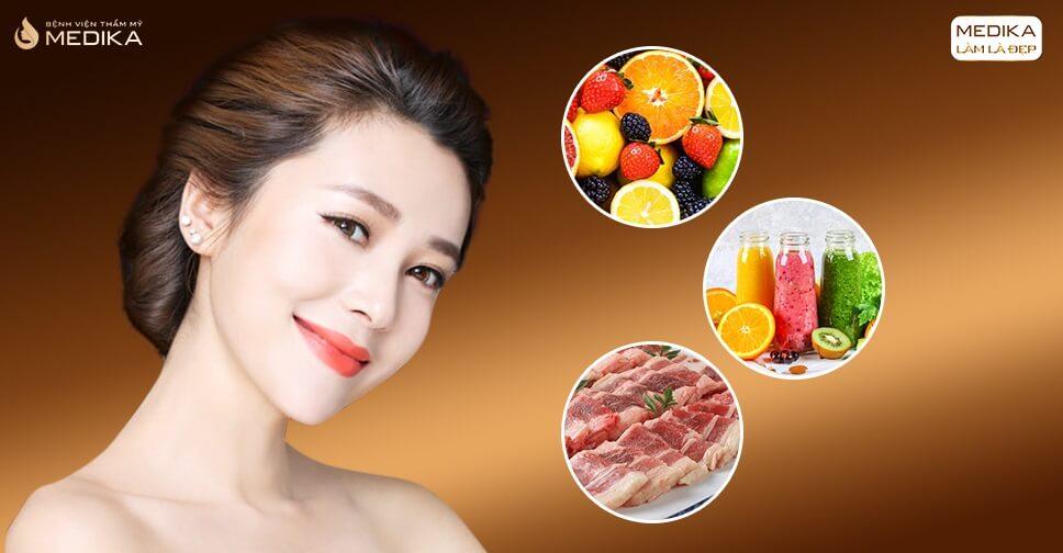 Thực đơn dinh dưỡng mau hồi phục sau nâng mũi bằng sụn tự thân - Nangmuicautrucdep.com