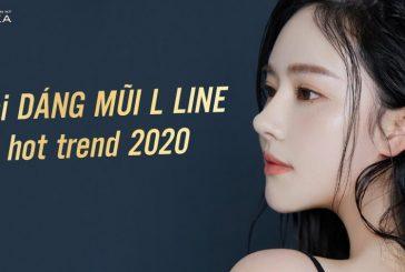 Soi dáng mũi cấu trúc L line hot trend 2020