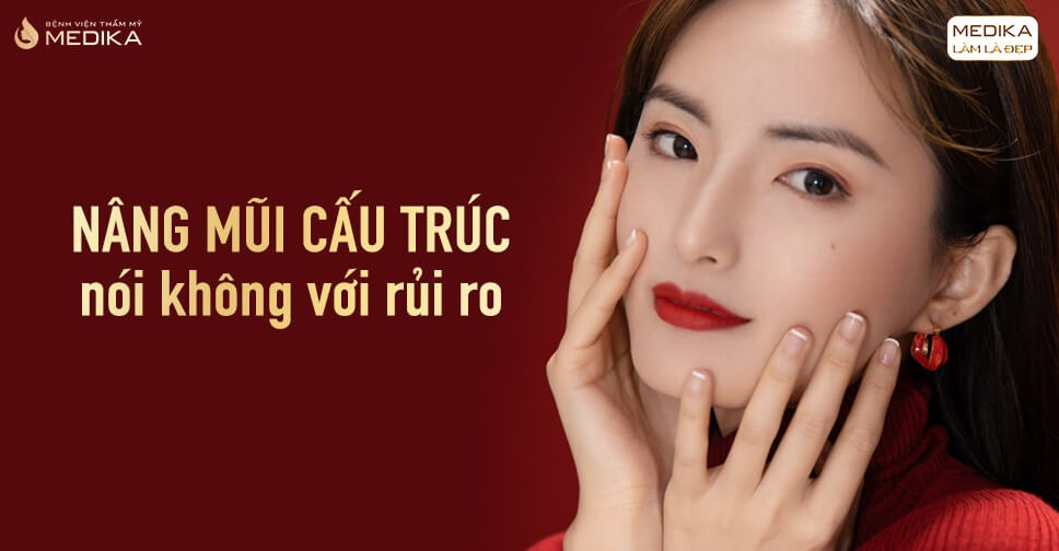 Nâng mũi cấu trúc giải quyết hết khuyết điểm chiếc mũi tại Nangmuicautrucdep.com