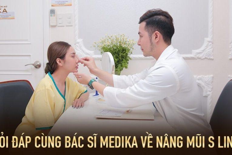 Hỏi đáp cùng bác sĩ MEDIKA về nâng mũi S line tại Nangmuicautrucdep.com