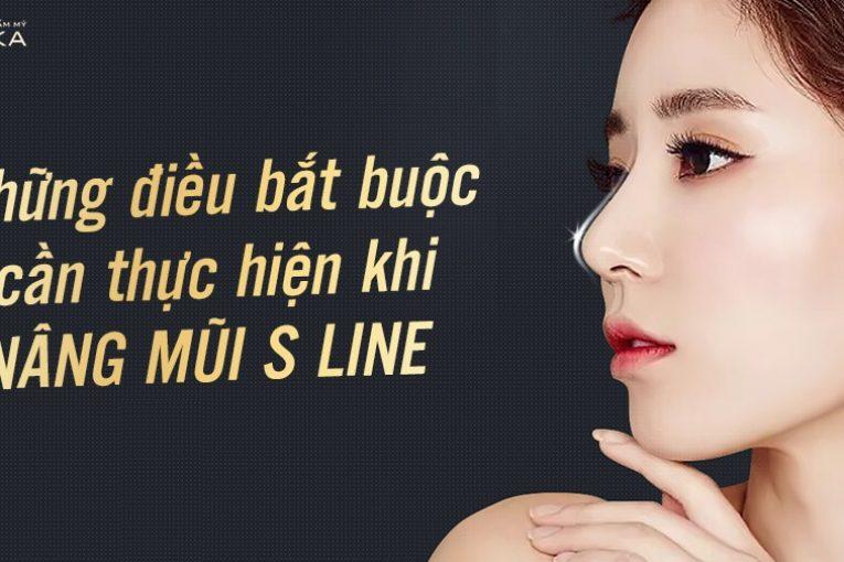 Những điều bắt buộc cần thực hiện khi nâng mũi S line tại Nangmuicautrucdep.com