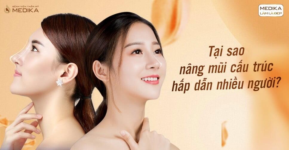 Tại sao nâng mũi cấu trúc hấp dẫn nhiều người tại Nangmuicautrucdep.com?