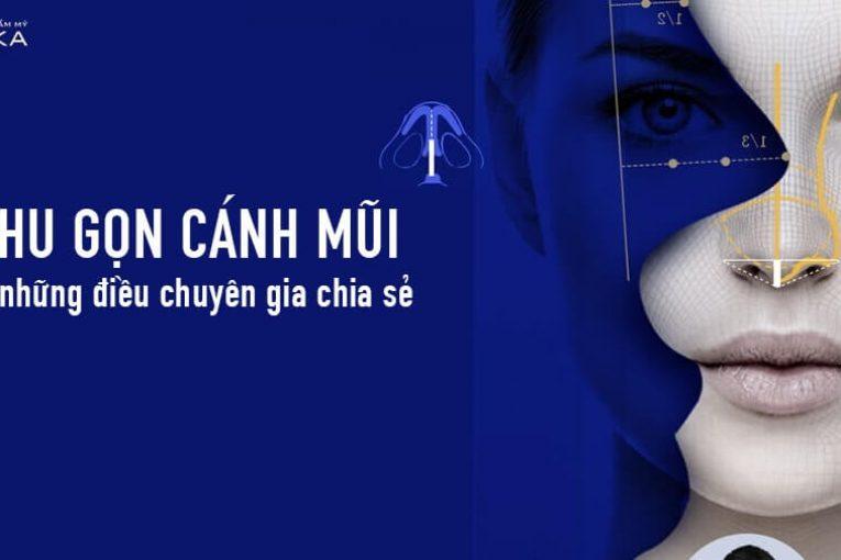 Thu gọn cánh mũi và những điều chuyên gia chia sẻ tại Nangmuicautrucdep.com