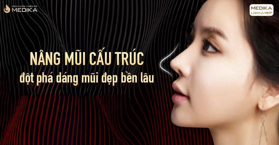 Nâng mũi cấu trúc - Đột phá dáng mũi đẹp bền lâu từ Nangmuicautrucdep.com