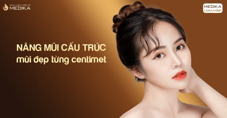 Nâng mũi cấu trúc - Mũi đẹp từng Centimet từ Nangmuicautrucdep.com