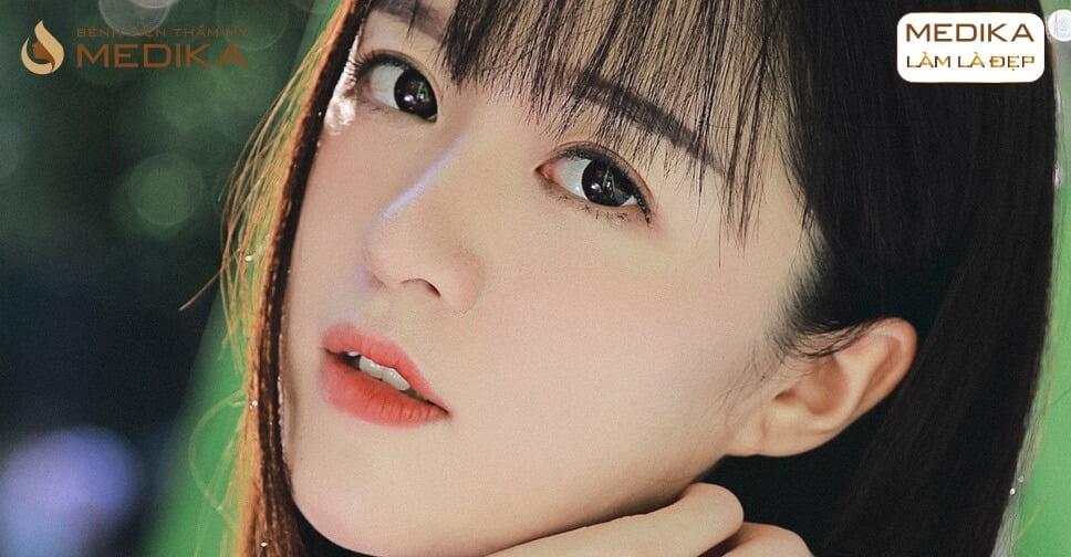 Nâng mũi Hàn Quốc có bị kéo mắt ảnh hưởng thẩm mỹ hay không bởi Nangmuicautrucdep.com?